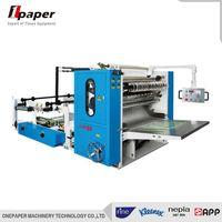automatic facial tissue paper napkin folding machine