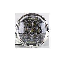 IP67 75W 7inch Round Jeep LED Headlight