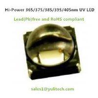 5 watt High Power 365-375nm Ultraviolet/UV/UVA LED for curing,detecting