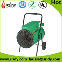 sridy heater 30kw strong power electric heater with wheel easy move greenhouse heater