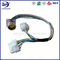 Intercontec 623 19pin connector add 5557 8PIN wiring harness for Communication equipment thumbnail image