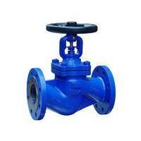 Globe valve bellow seal acc.to DIN