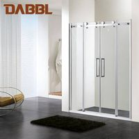 Customized Screen Double Sliding Door for shower room