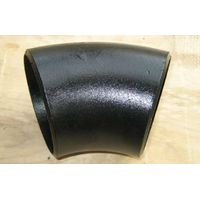 45 degree carbon steel pipe elbow long radius thumbnail image