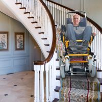 Fabio Lightweight Aluminium Double Braced Wheelchair