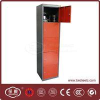 Steel school locker/clothing locker/swimming pool locker