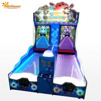 Coin Operated Game Forest Bowling Ticket Redemption Arcade Bowling Lottery Game Machine for Sale