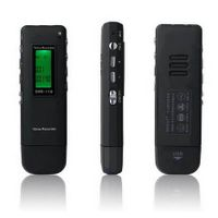 USB Digital Voice Recorder With FM Radio