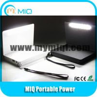 MIQ foldable solar power bank solar charger with solar light 6000MAH thumbnail image