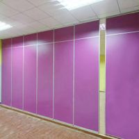Sound Proof Folding Partition Flexible Room Divider Movable Partition Wall
