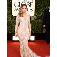 2013 Zuhair Murad Dresses Lace Jennifer Lopez Celebrity Dress on sale
