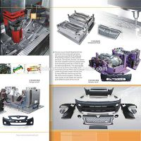 Auto parts plastic injection mould&Bumper plastic mould