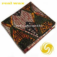 real wax print cotton fabric for africa