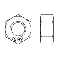 DIN 6915 STRUCTURAL NUTS