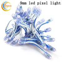 9mm Led Diffused Digital LED Pixels Lights red yellow blue green white