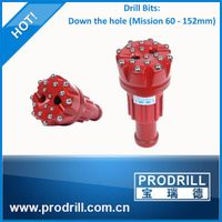 drilling dth hammer and dth bit