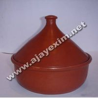 Clay Serving Dish for Soups and Salads with Lid