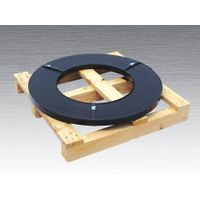 pained steel strapping ribbon