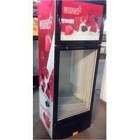 Jinzhou High Quality Vertical display refrigerator showcase chiller with freezer