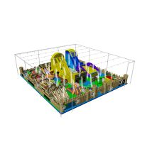 Inflatable amusement park giant inflatable bouncer playground thumbnail image