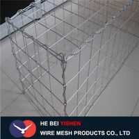 Galvanized /galfan/PVC coated welded gabion box
