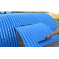 Long-Life Fixed Rain Cover for Belt Conveyor