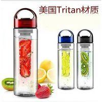 sj24-TRITAN fruit infuser bottle drink equipment BPA free popular style high level 700ML