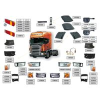 Truck and polic car top mounted led light tower thumbnail image