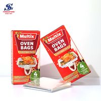 Disposable chicken packaging Heatresistant Airline Oven Food Cook Bag thumbnail image
