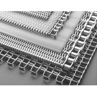 Chain driven mesh belt use for heat treating, metalworking, food processing, snack food, ceramics thumbnail image