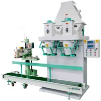 double bucket powder packing and filling machine,double hopper powder weigning and filling machine