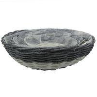 willow handmake flower basket for garden & home decoration