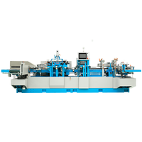 high speed front cutting and flap machine