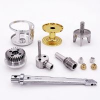stainless steel aluminum CNC machined parts thumbnail image