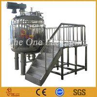 Mixing Tank, Reactor, Boiler