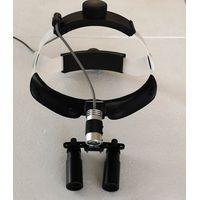 5x surgical binocular loupes with led headlight neurosurgery