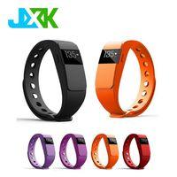 Smart Bracelet Bluetooth 4.0 Smartband Heart Rate Monitor Sleep Fitness Tracker Call Reminder JXK-11 thumbnail image