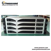 DA series Powavesound digital power amplifier sound standard professional OEM/ODM factory