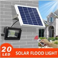 Aluminum Waterproof Outdoor Led Solar Powered Flood Wall light