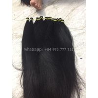 [ CHEAP HAIR] 100% Cuticle Aligned Remy 10 inches Vietnam Single Drawn Human Hair Straight thumbnail image