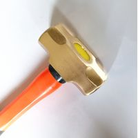 anti spark tools sledge hammer with fiberglass handle of beryllium copper or aluminum bronze thumbnail image