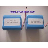 Battery Pack with 18650 7.4V 10400mAh 2S4P thumbnail image