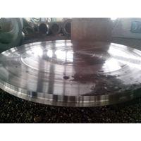 ASTM Heat Treatment 20MnMoNb Alloy Steel Disc Forging Heat Exchanger Tube Sheet
