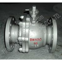 GOST PN16 Cast Steel Flanged Ball Valve