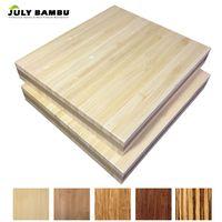 Hot Sales 19mm Bamboo Ply wood Sheet Natural Solid Bamboo Wood Slabs