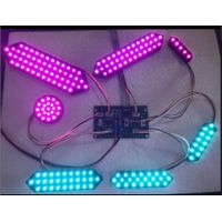 multi color of Led digit segment outdoor