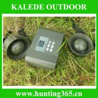 Duck decoy with timer and 2pcs 50w speaker