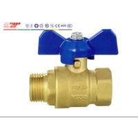 Standard FM Brass Ball Valve with Butterfly Handle Art. T01050