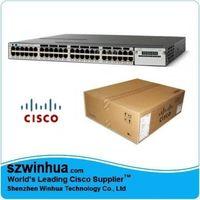 Cisco 3750X WS-C3750X-24P-S 3750X 24 Port PoE IP Base Switch thumbnail image
