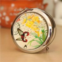 Tourist souvenir pocket mirror